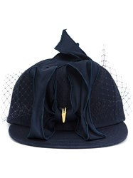 Piers Atkinson 'Petersham' Baseball Hat Blue