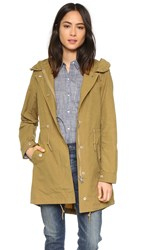 Penfield Almondbury Snorkel Hooded Parka Tan