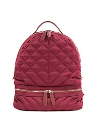 Sam Edelman Penelope Quilted Backpack Cranberry