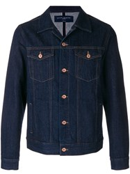 Natural Selection Classic Denim Jacket Blue