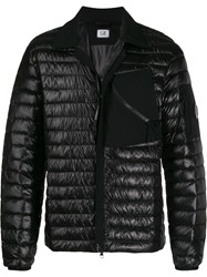 C.P. Company Cp Zipped Chest Panel Padded Jacket Black