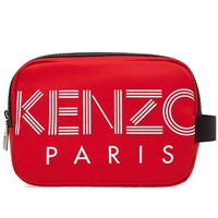 Kenzo Paris Sport Wash Bag Red