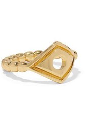 Arme De L'amour Gold Tone Ring Gold