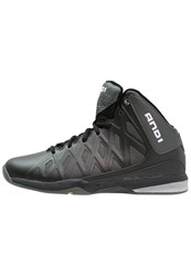 And 1 And1 Unbreakable Mid Basketball Shoes Black Grey