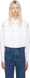 Y Project White Oversized Cut Out Shirt