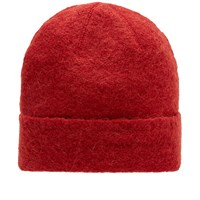 Our Legacy Knitted Hat Red