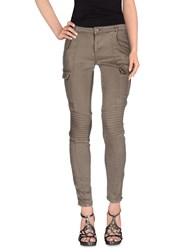 Hotel Particulier Denim Denim Trousers Women Military Green
