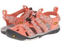 Keen Clearwater Cnx Fusion Coral Vapor Women's Shoes Orange