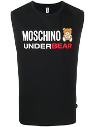 Moschino Underbear Tank Top Black