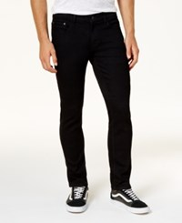 Ring Of Fire Men's Slim Fit Storm Wash Jeans Created For Macy's Black Paradise