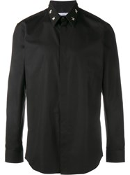 Givenchy Star Studded Collar Shirt Black