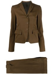 Gucci Pre Owned 1990S Two Piece Skirt Suit 60