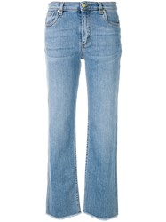 Etro Casual Straight Leg Jeans Blue