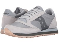 Saucony Jazz Original Cl Windbreaker Grey Charcoal Men's Classic Shoes Gray