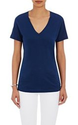 Barneys New York V Neck T Shirt Blue