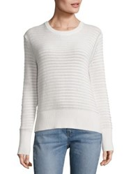 Rag And Bone Elsie Crewneck Sweater White