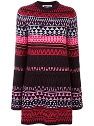 Mcq By Alexander Mcqueen Fair Isle Intarsia Dress