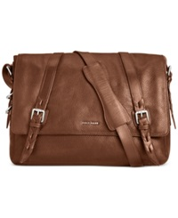 Cole Haan Pebbled Leather Messenger Bag Luggage