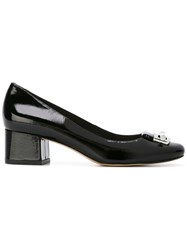 Michael Michael Kors Square Toe Pumps Black