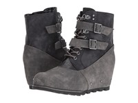 Not Rated Hermione Charcoal Women's Lace Up Boots Gray