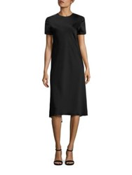 Dkny Reversible Layered Dress Black