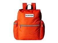 Hunter Original Top Clip Nylon Backpack Orange Backpack Bags