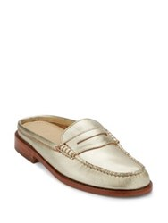 G.H. Bass Wynn Iconic Leather Penny Mules Copper