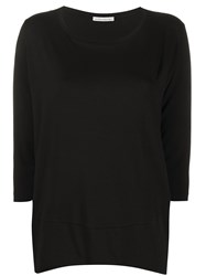 Stefano Mortari Plain Three Quarter Sleeve Top 60