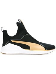 Puma High Top Sneakers Black