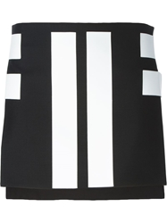 Givenchy Asymmetric Mini Skirt