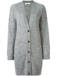 Golden Goose Deluxe Brand Oversized Cardigan Grey