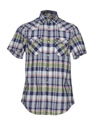 Denim And Supply Ralph Lauren Shirts Blue