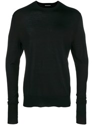 Neil Barrett Crewneck Sweater Black