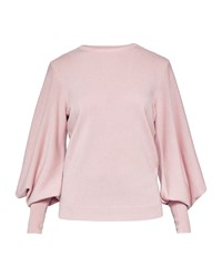 Ted Baker Fluri Oversized Sleeve Cashmere Jmpr Light Pink