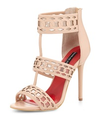 Charles Jourdan Layton Strappy High Heel Sandal Nude