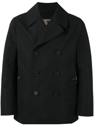Sealup Double Breasted Coat Black