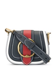 Polo Ralph Lauren Colour Block Cross Body Bag Blue