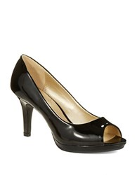 Bandolino Supermodel Peep Toe Pumps Black