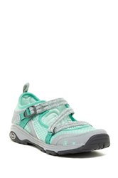 Chaco Outcross Evo Mary Jane Sneaker Green