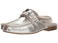 Donald J Pliner Sylvi Silver Clog Shoes