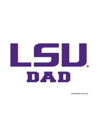 Wincraft Lsu Tigers Ultra Decal Team Color