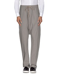 Rick Owens Trousers Casual Trousers Men Grey