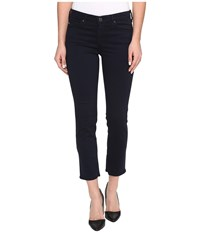 Ag Adriano Goldschmied Prima Crop Mid Rise Cigarette Leg In New Navy New Navy Women's Jeans