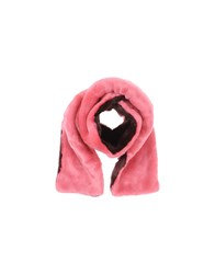 American Retro Accessories Oblong Scarves Pink