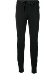 Dorothee Schumacher Side Striped Trousers Black