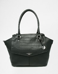 Fiorelli Tote Bag With Croc Black Croc