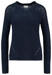 Vila Vitapa Jumper Total Eclipse Dark Blue