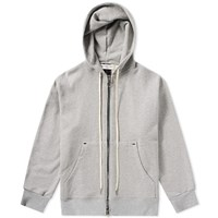 Mr. Completely Front And Back Zip Hoody Grey
