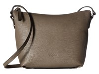 Ecco Sp Small Crossbody Moon Rock Cross Body Handbags Gray