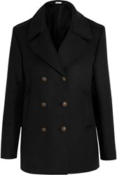 Tomas Maier Wool Blend Peacoat Black